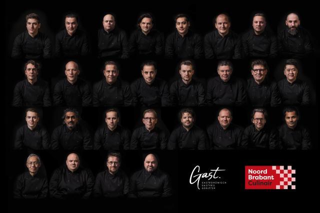 28 Brabantse chefs